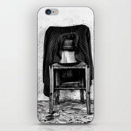 rustic chair iPhone Skin