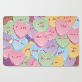 Valentine's candies Cutting Board