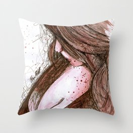 Prayers For Rain Throw Pillow