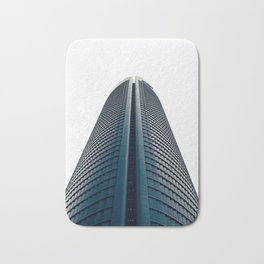 Skyscraper in Madrid Bath Mat