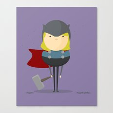 My handy hero! Canvas Print