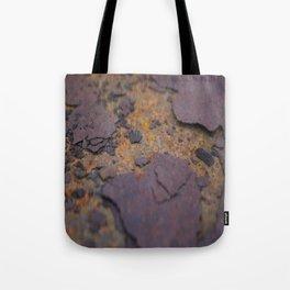 Rust on Rust rustic decor Tote Bag