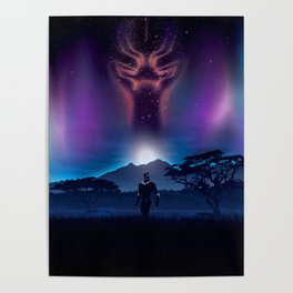 Black Panther Heaven Poster