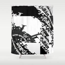 Garamond Celtic Samples.... Shower Curtain