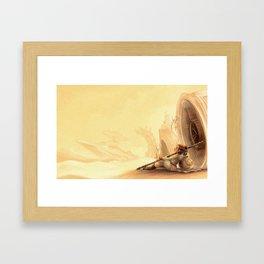Desert Princess Framed Art Print