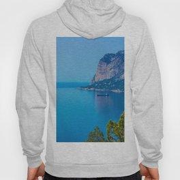 Blue Seascape Hoody
