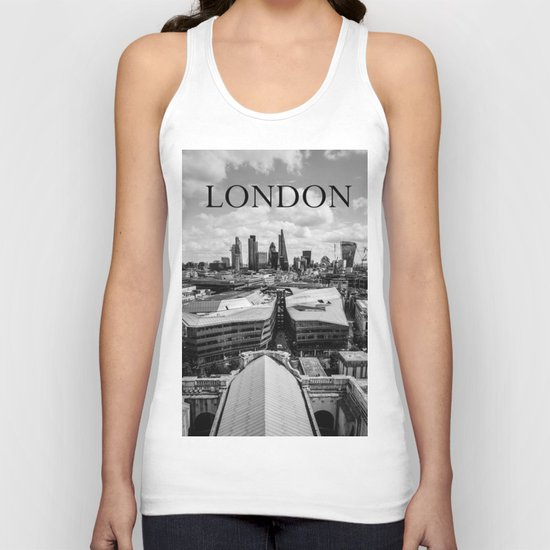 The City of London Unisex Tank Top