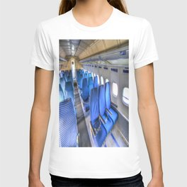 Tupolev TU-154 Russian Airliner Seating T-shirt