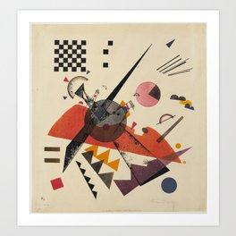 Orange - V. Kandinsky Art Print