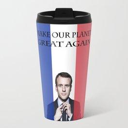 Macron Make Our Planet Great Again Travel Mug