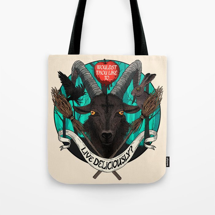 Black Phillip (The Witch) Tote Bag
