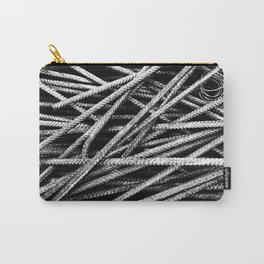 Rebar And Spring - Industrial Abstract Carry-All Pouch