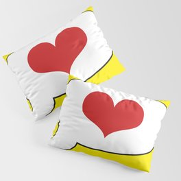 Simple LOVE - Living Hell Pillow Sham