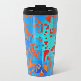 contrast in colors Travel Mug