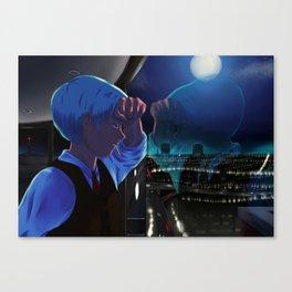 City Window Canvas Print