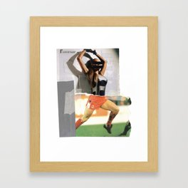 Football Fashion #15 Framed Art Print