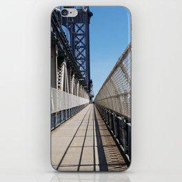 Cross the Bridge iPhone Skin