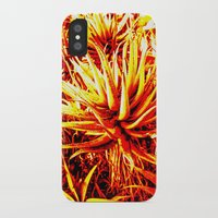cacti iPhone & iPod Cases featuring CACTI by Charles Harry Mackenzie
