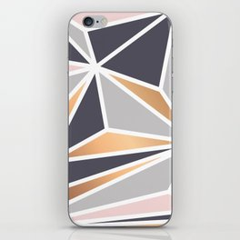 Geometry Gold 047 iPhone Skin