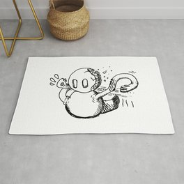 Emergency Responses Protocol doodle Rug
