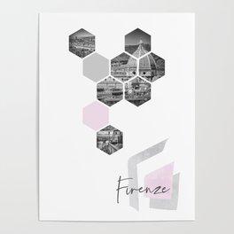 Urban Design FIRENZE Poster