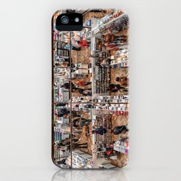 Shopping Labyrinth iPhone Case