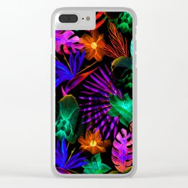unique florals ii Clear iPhone Case