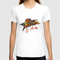 street fighter T-shirts featuring street fighter I am by Hisham Al Riyami