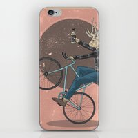 jackalope iPhone & iPod Skins featuring Jackalope by Kelli Shaver
