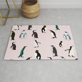 Penguin Pattern9 Rug
