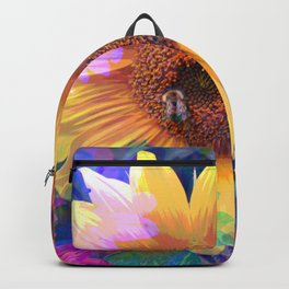 Summer's Sweetest Sunflowers Backpack