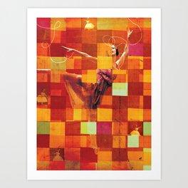 Social Life #19:  The Dancer 5 Art Print