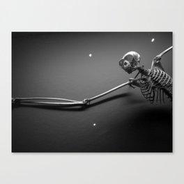 Gibbon Nightmares Canvas Print