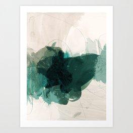 gestural abstraction 02 Art Print