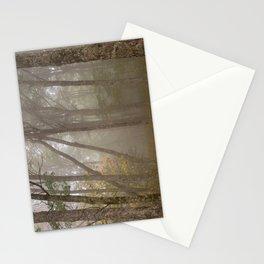 Misty Spruce Knob Forest Stationery Cards