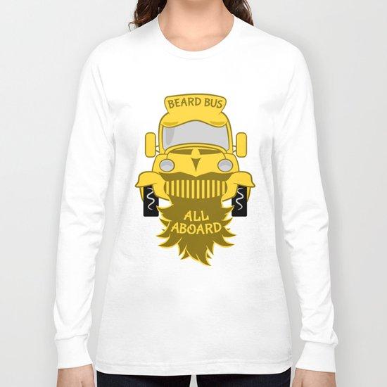 Beard Bus Long Sleeve T-shirt