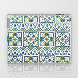 Italian Tile Pattern – Sicilian ceramic from Caltagirone Laptop & iPad Skin