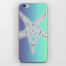 Rainbow Satan iPhone Skin