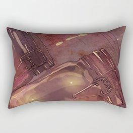Flickering Stars Rectangular Pillow