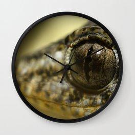 Gecko Smiling Wall Clock
