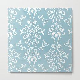 Elegance - blue Metal Print