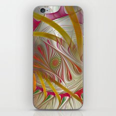 flames on texture -29- iPhone & iPod Skin