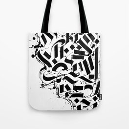 CALLIGRAPHY N° 01 ZV Tote Bag