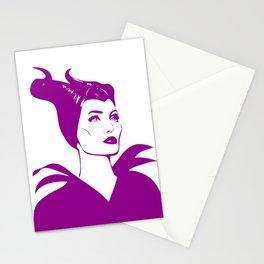 Maleficent | Pop Art Stationery Cards