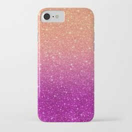 Ombre glitter #10 iPhone Case