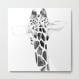 don't look back in anger... Metal Print
