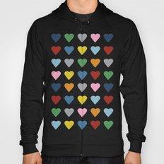 64 Hearts Hoody