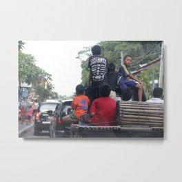 Bali People #1 Metal Print