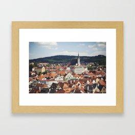 Český Krumlov Framed Art Print