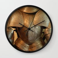 knight Wall Clocks featuring Knight by SlothgirlArt